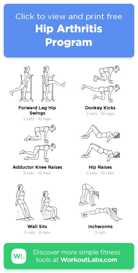 hip stretches for arthritis