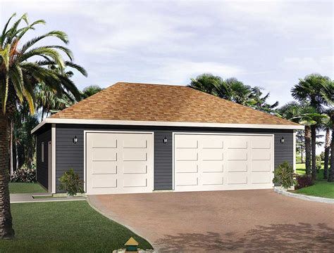 Hip Roof Garage Plans