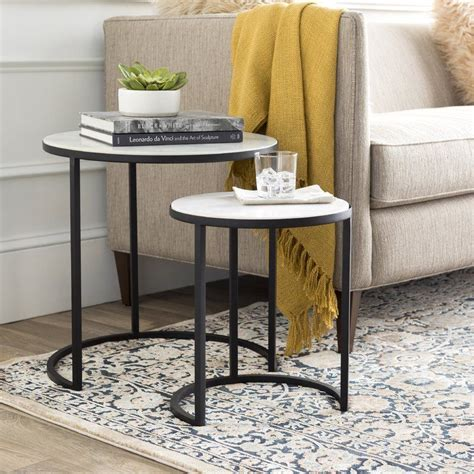 Hiram 2 Piece Nesting Tables