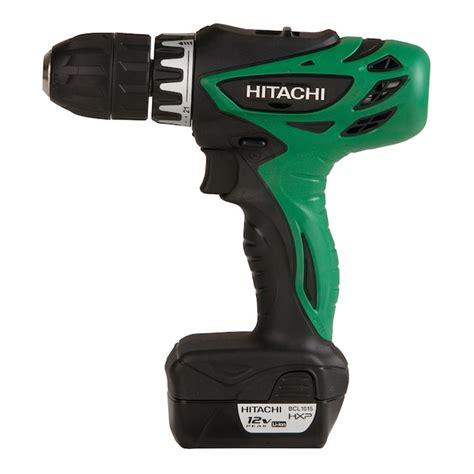 Hitachi 12 Volt Drill