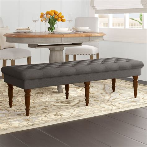 Hodapp Layla Tufted Upholstered Bench