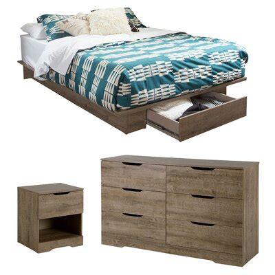 Holland Full/Queen Storage Platform Configurable Bedroom Set bySouth Shore
