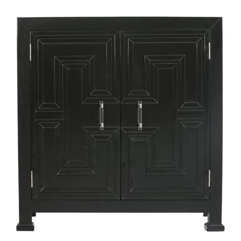Hollins Geometric Overlay 2 Door Accent Cabinet