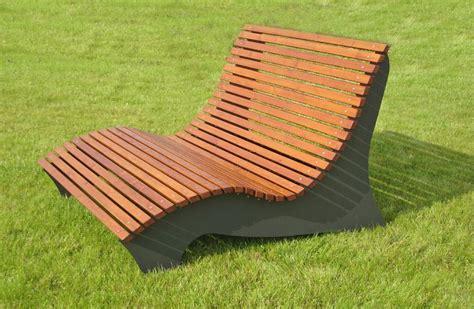 Holz Relaxliege Garten