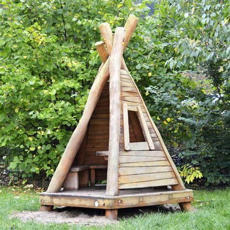 Holz Tipi Garten