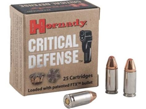 Ammunition Home Defense 9mm Ammunition.
