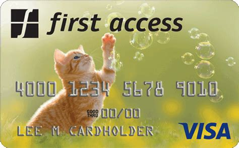 Credit Card Access Fee Home First Access Card