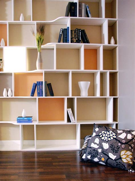 homemade wall to wall bookshelves