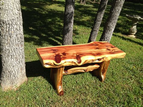 Homemade Cedar Furniture