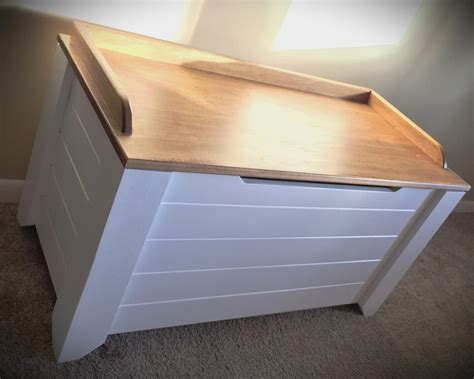 Homemade Toy Boxes