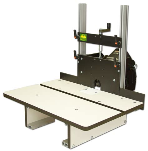 Horizontal Router Table Woodworking Plans