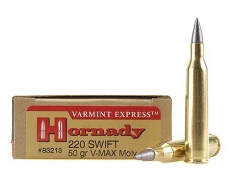 Ammunition Hornady 220 Swift Ammunition