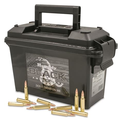 Ammunition Hornady 223 5.56 Ammunition.