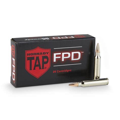 Ammunition Hornady 223 75gr Tap Fpd Ammunition.