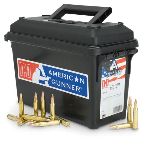 Ammunition Hornady 223 Remington 55-Grain Ammunition Hp.