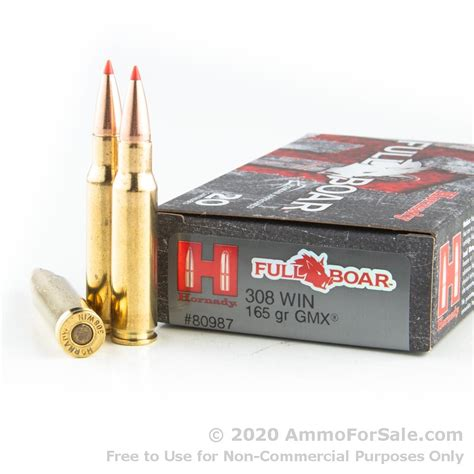 Ammunition Hornady 308 Ammunition For Sale.