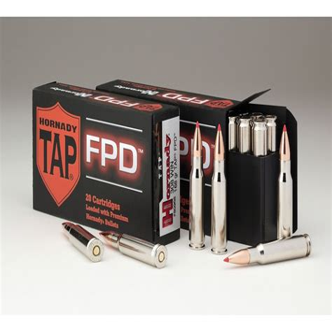 Ammunition Hornady 308 Tap Ammunition.
