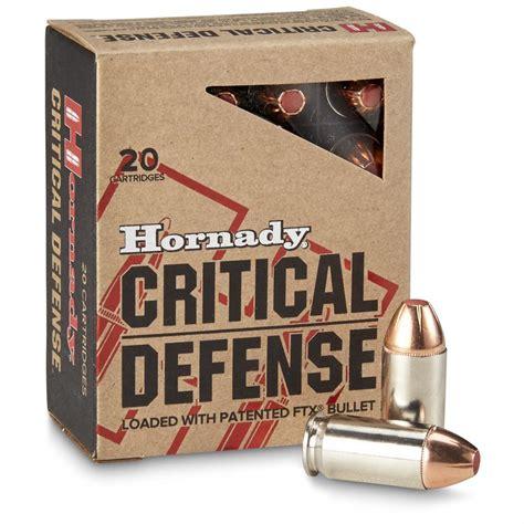 Ammunition Hornady 45 Acp Critical Defense Ammunition.