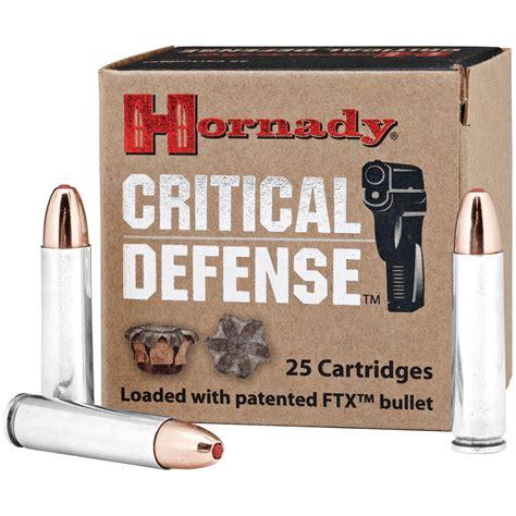 Ammunition Hornady Critical Defense Ammunition 30 Carbine.