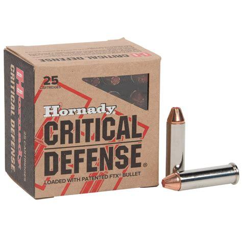 Ammunition Hornady Critical Defense Ammunition 357 Magnum.