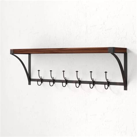 Horning Wall Mounted Coat Rack