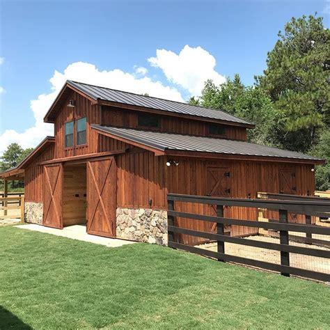 Horse Barn Plans In Texas