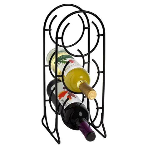 Horseshoe 3 Bottle Tabletop Wine Rac by
