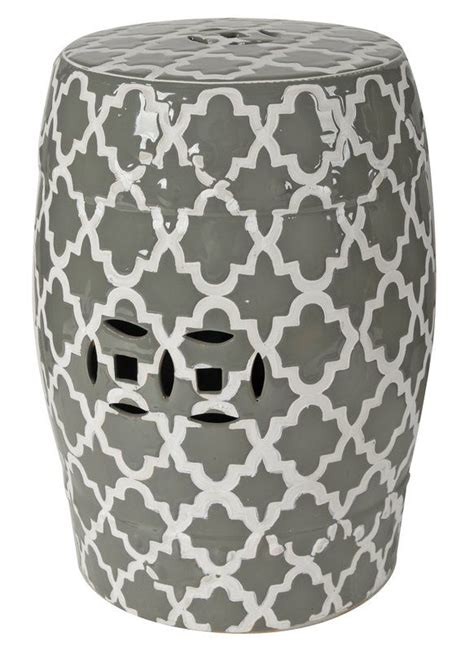 Hosea Ceramic Garden Stool