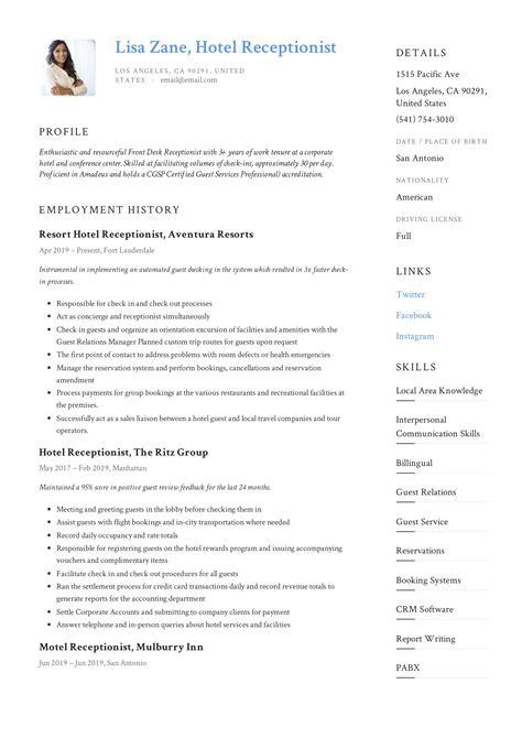 cv template for hotel jobs resume maker create professional resume sales manager enterprise sales manager job