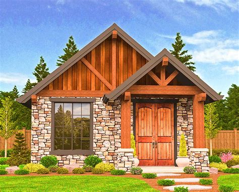 House Plans Vacation Cabin