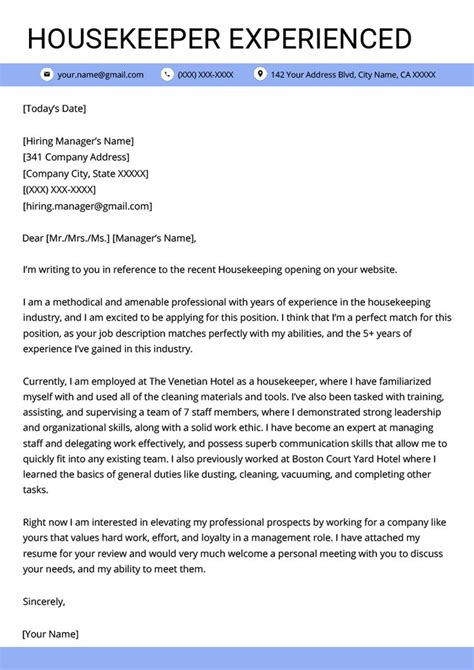 professional cover letter examples bartender housekeeper cover letter sample professional cv writing. Resume Example. Resume CV Cover Letter