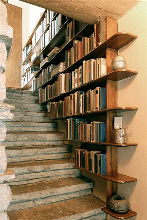 how to build bookcase stairs
