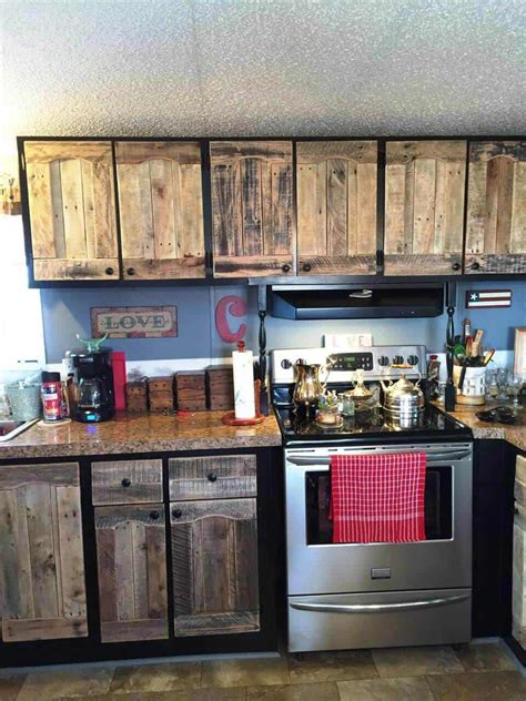 how to make cabinets out of pallets