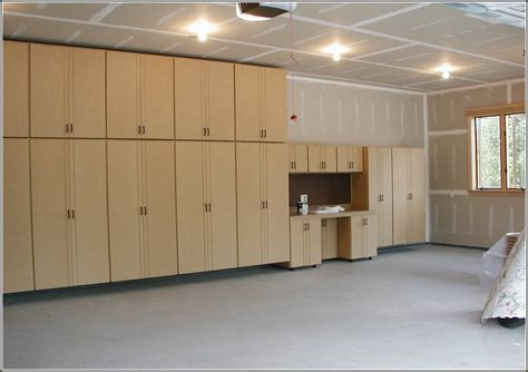 how to make wood cabinets for garage