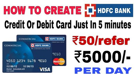 How Can I Apply For Credit Card One Hdfc Bank Credit Card Apply For Hdfc Credit Cards Online