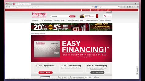 How Do I Apply For An Hh Gregg Credit Card Hhgregg Credit Card Alternatives Credit Land