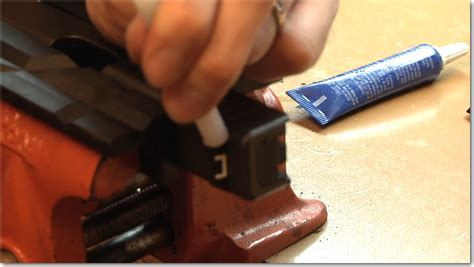 Gunkeyword How Do You Remove The Rear Sight On A Glock.