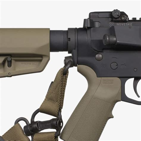 Magpul-Question How Does Sling Attach To Magpul Stock.
