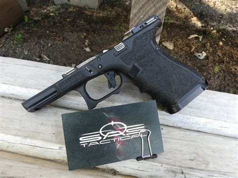 Glock-Question How Farto Undercut Glock Trigger Guard.