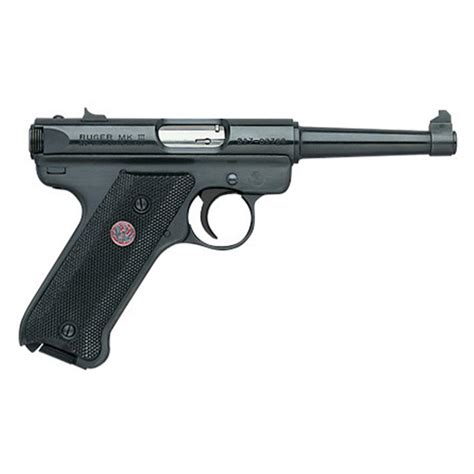Ruger-Question How Many Bullets In A Ruger Mk Iii.