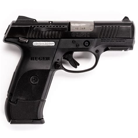 Ruger-Question How Reliable Is The Ruger Sr40 C.