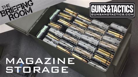 Gun-Store-Question How Should You Store Gun Mags.
