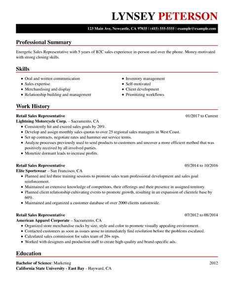 sample resume for nurses