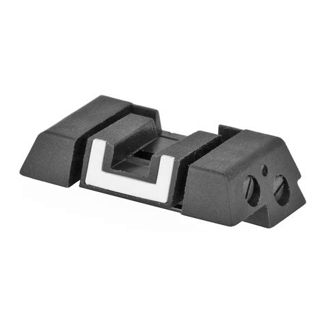 Glock-Question How To Adjust A Glock Rear Sight.