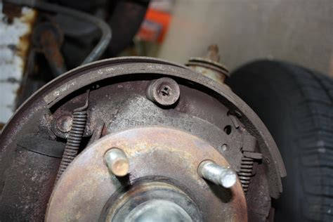 Taurus-Question How To Adjust Drum Brakes Ford Taurus