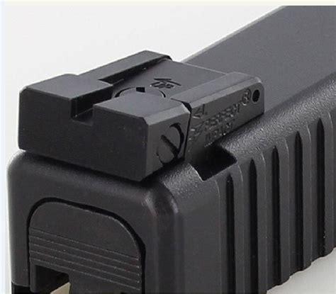 Glock-Question How To Adjust Sights On Glock 22 Gen 4.