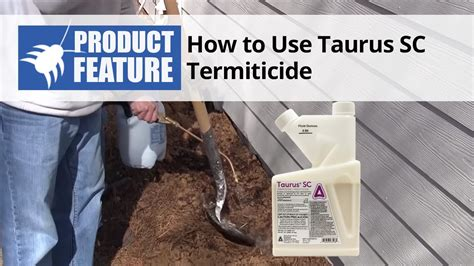 Taurus-Question How To Apply Taurus Termicide