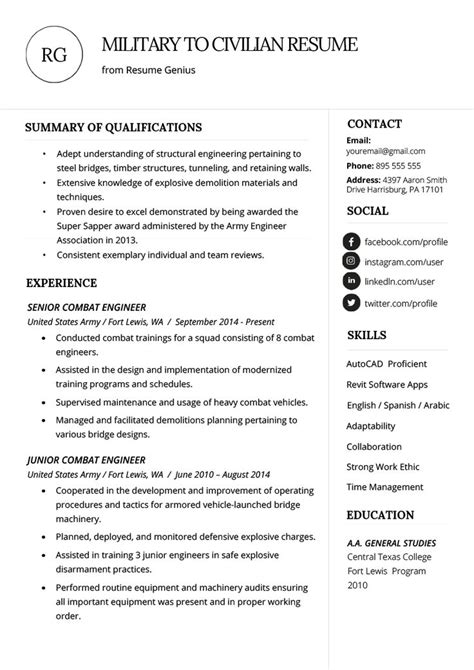 How To Put Us Army On Resume Army Resumes By Expert Resume Writers Mrw