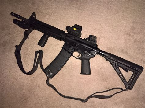 Magpul-Question How To Attach A Sling To A Magpul Moe Stock.