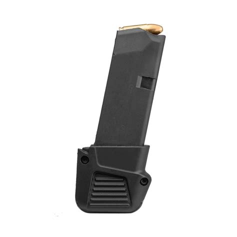 Glock-Question How To Attach Extension To Glock 43 Magazine.